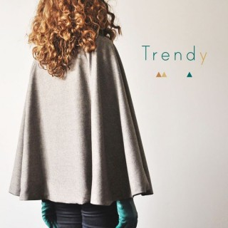 (ENGLISH) Trendy Cape